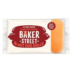 Baker Street 4 Hot Dog Rolls