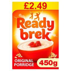 Ready Brek Smooth Porridge Original Oats  PMP £2.49