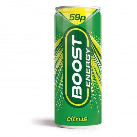 Boost Energy Citrus Zing PM 59p