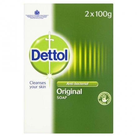 Dettol Antibacterial Soap Twin Pack