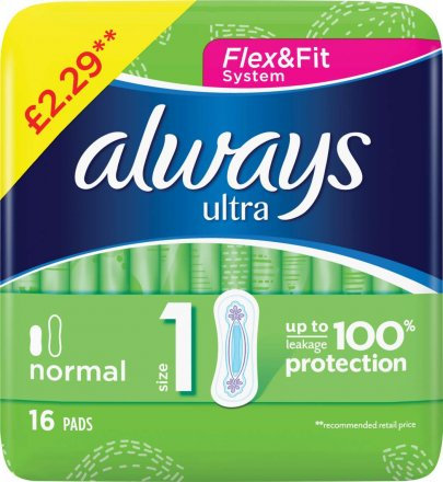 Always Ultra Normal PM £2.29