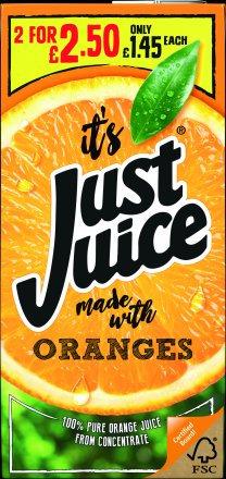 Just Juice Orange PM £1.45