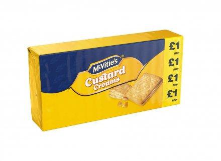 McVitie's Custard Creams PM £1