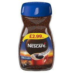 Nescafe Original Decaff Instant Coffee 95g