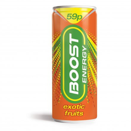 Boost Energy Exotic Fruits PM 59p