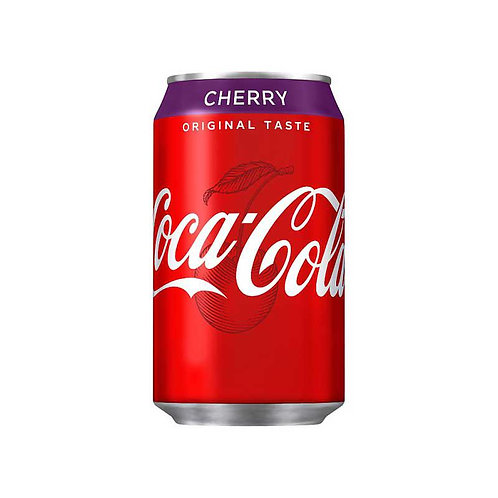 Coca Cola Original Taste Cherry 330ml Can