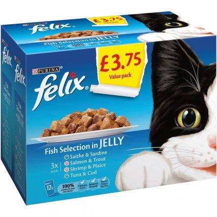 Felix Pouch Fish Selection PM £3.75