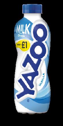Yazoo Vanilla Milk PM £1 400ml