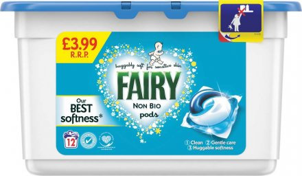 Fairy Non Biological Washing Capsule Pods PM £3.99