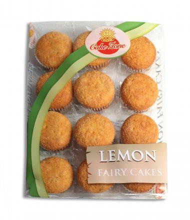 Cakezone Lemon Fairy Cakes PM 99p