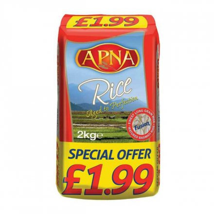 Apna Long Grain Basmati Rice PM £1.99
