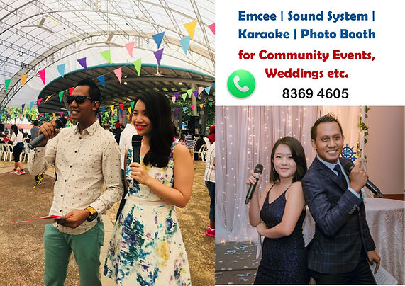 Bilingual Emcee Sound System Karaoke Pho