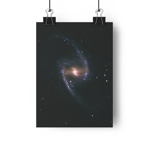 "NGC 1365, matte print, 8""x11"""