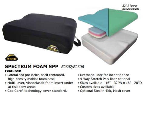 "Spectrum Foam SPP 26"">"