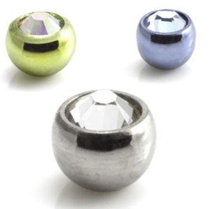 Ti Micro Gem Ball