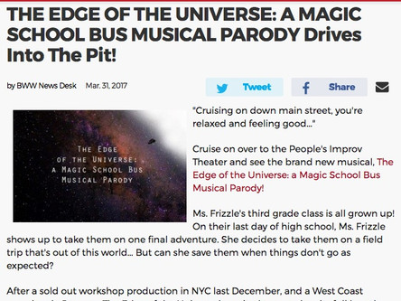 """The Edge of the Universe"" @ the PIT"