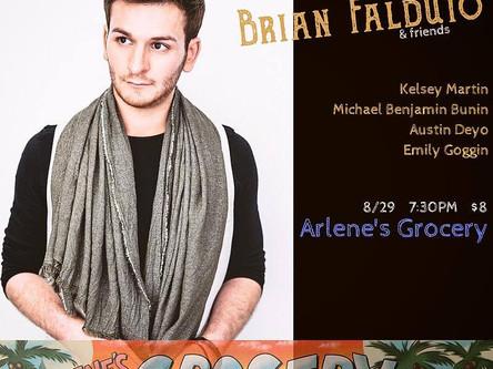 Brian Falduto + Kelsey Martin in Concert