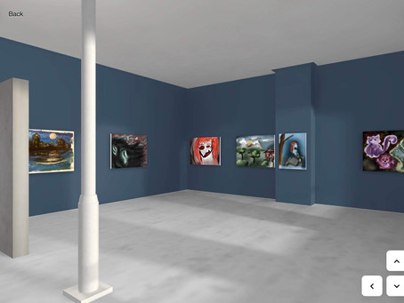 "New virtual 3D exhibition ""The Surrealistic Realm"" is now live!"
