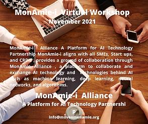 MonAmie-i Virtual Workshop November 2021