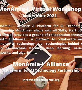 MonAmie-i Virtual Workshop November 2021