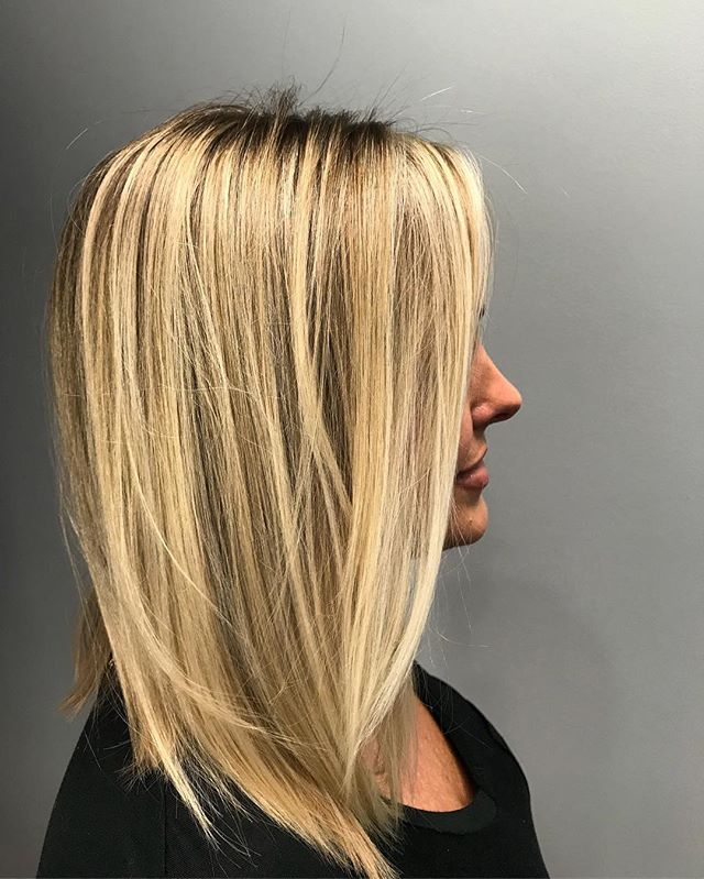 Balayage and cut