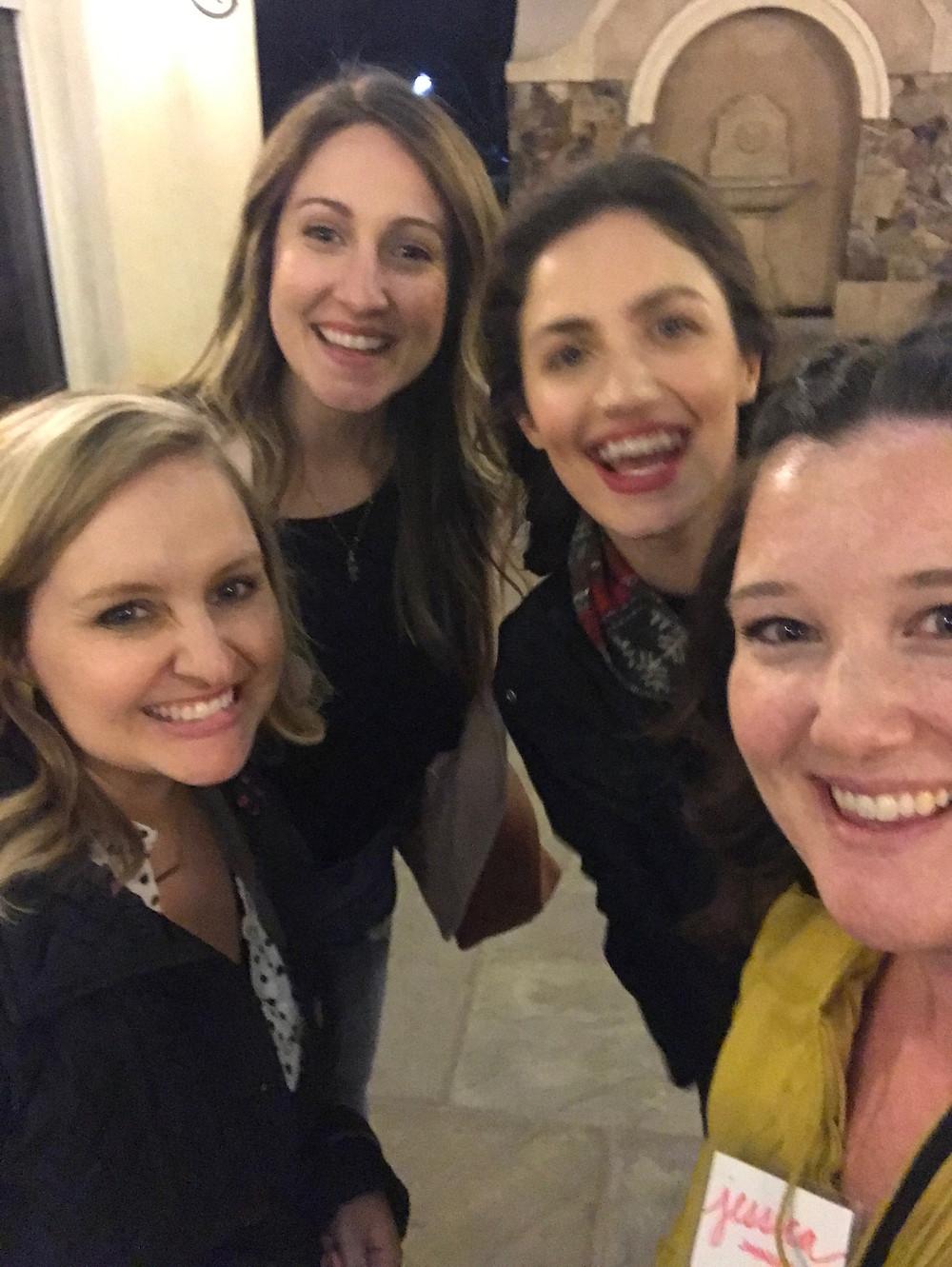 Meredith Johnston, Sam Ray, Joanne Maye, Myself