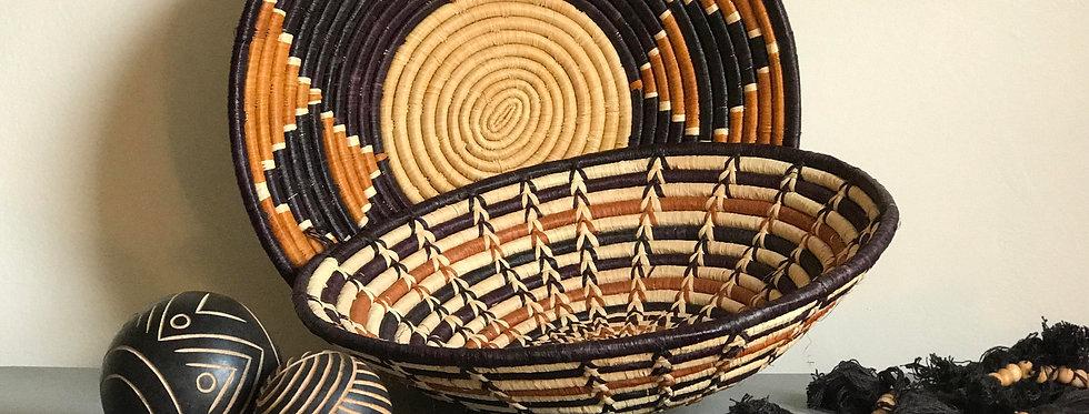 Woven Tribal Bowl