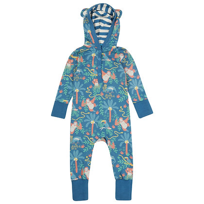 Rainforest Hooded Playsuit