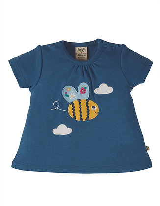 Bumble Bee Applique T-shirt