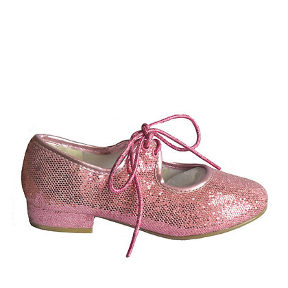Pink Sparkly Tap Shoes