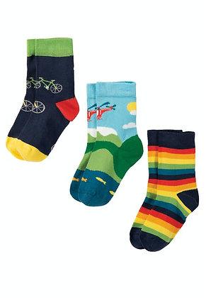 Rock My Socks 3 Pack - Bike Multipack