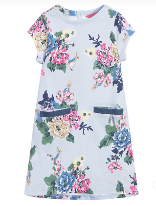 Joules Official Peter Rabbit Collection Floral Dress