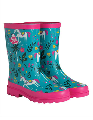 Frugi Puddle Buster Wellington Boots - Indian Horse