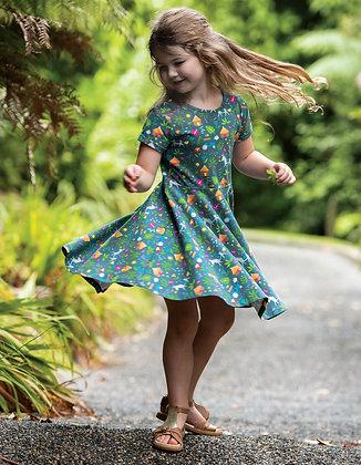 Spring Skater Dress - Indigo Farm