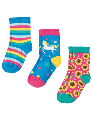 Susie Socks 3 Pack - Unicorn Multipack