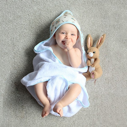 Baby Hooded Towel by Belle & Boo