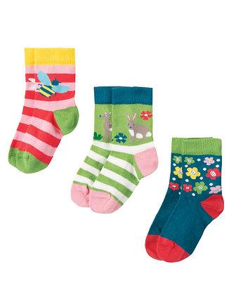 Little Socks 3 Pack - Deer Multipack