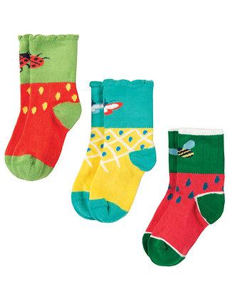 Little Tooty Socks 3 Pack