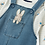 Thumbnail: Joules Official Peter Rabbit Collection Denim Dungaree Set