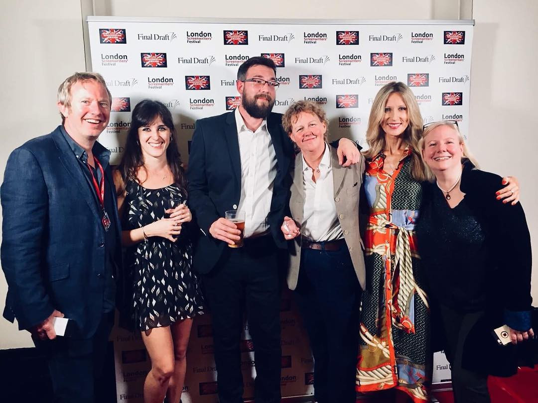 At the London Screenwriter's Festival 2018