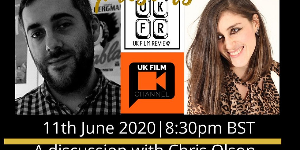 Natasha Marburger presents a discussion with Chris Olson of UK Film Review