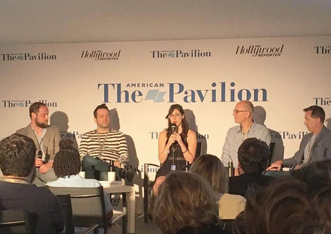 Panel at the American Pavilion at Cannes Film Festival 2019
