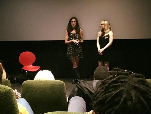 Introducing a film premiere