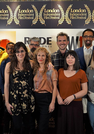 With Directors UK and ARRI at the London Independent Film Festival 2019