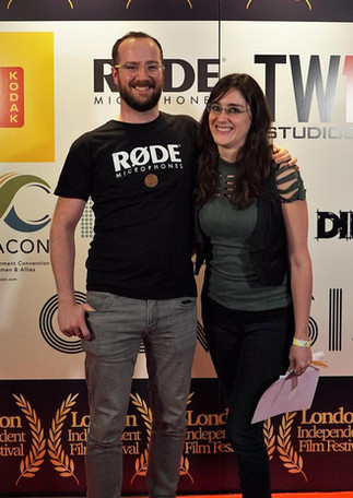 With RODE Microphones at the London Independent Film Festival 2019