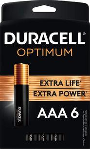 Duracell Optimum AAA Alkaline Batteries