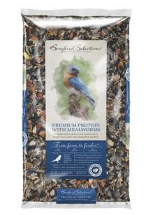 Audubon Park Songbird Selections Chickadee and Nuthatch Mealworm Wild Bird Food 10 lb.