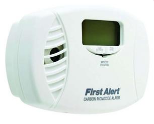 First Alert Plug-In w:Battery Back-up El