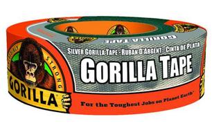 Gorilla 1.88 in. W x 35 yd. L Silver Duc