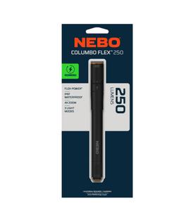 Nebo Columbo 250 lumens Black LED Pen Light